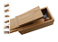 Boite-a-cirage-en-bois-avec-repose-pied-6-accessoires miniature 1