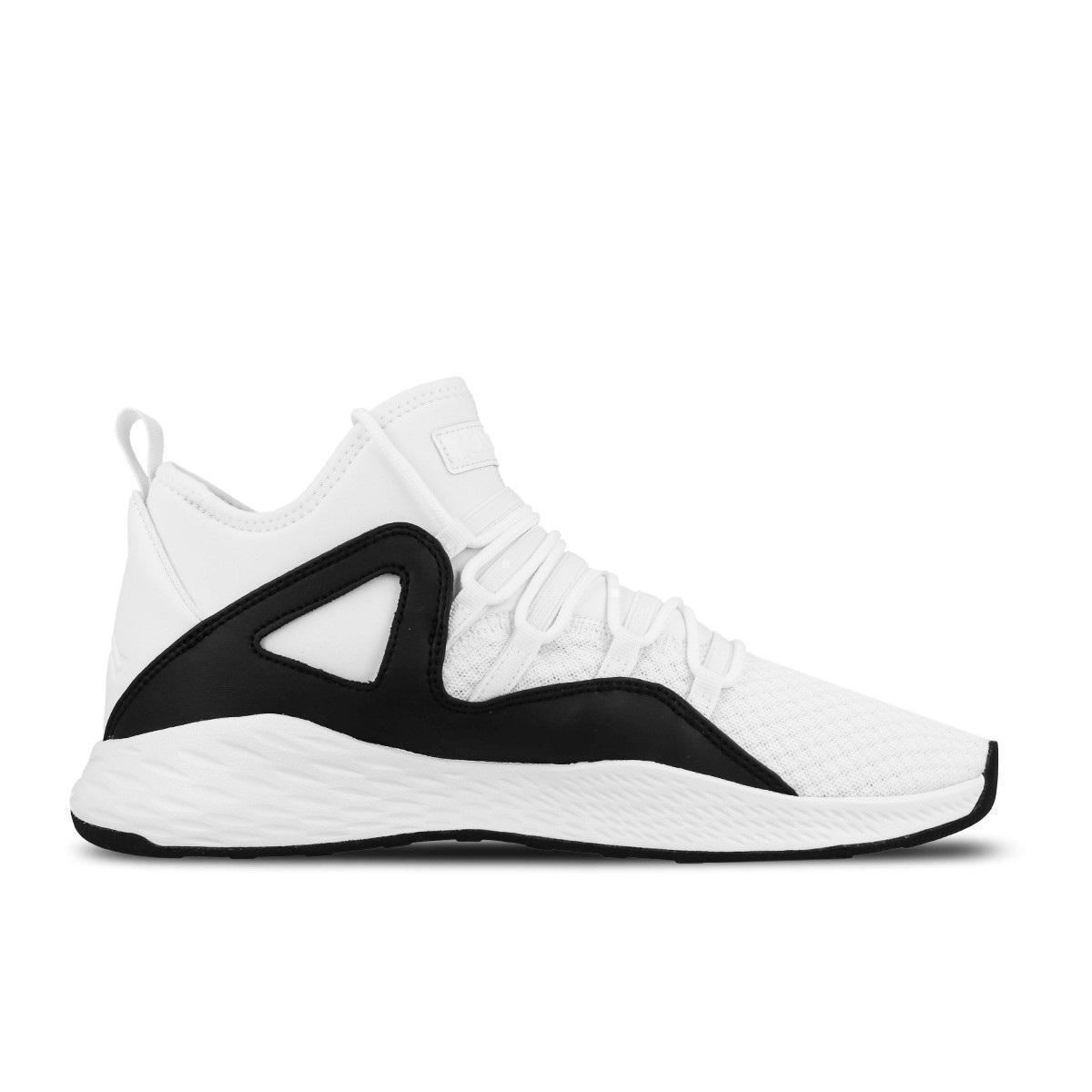 Da Uomo Nike Jordan Formula 23 Bianco/Nero Basket Scarpe da ginnastica 881465 100 (25) Scarpe classiche da uomo