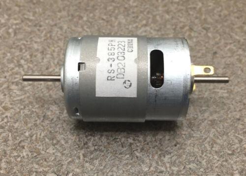 Mabuchi 12VDC Motor 2100-2900 rpm DUAL SHAFT hobbies RC CARS LOT of 25 motors
