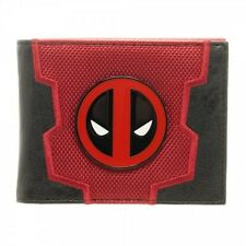 OFFICIAL MARVEL COMICS DEADPOOL SYMBOL SUIT UP COSTUME RED WALLET (BRAND NEW)