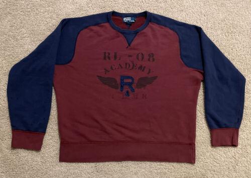 Vintage Polo Ralph Lauren Academy Fleece Sweatshi… - image 1