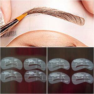1x Pochoir Sourcils 24 Styles Modele Maquillage Stencil Makeup