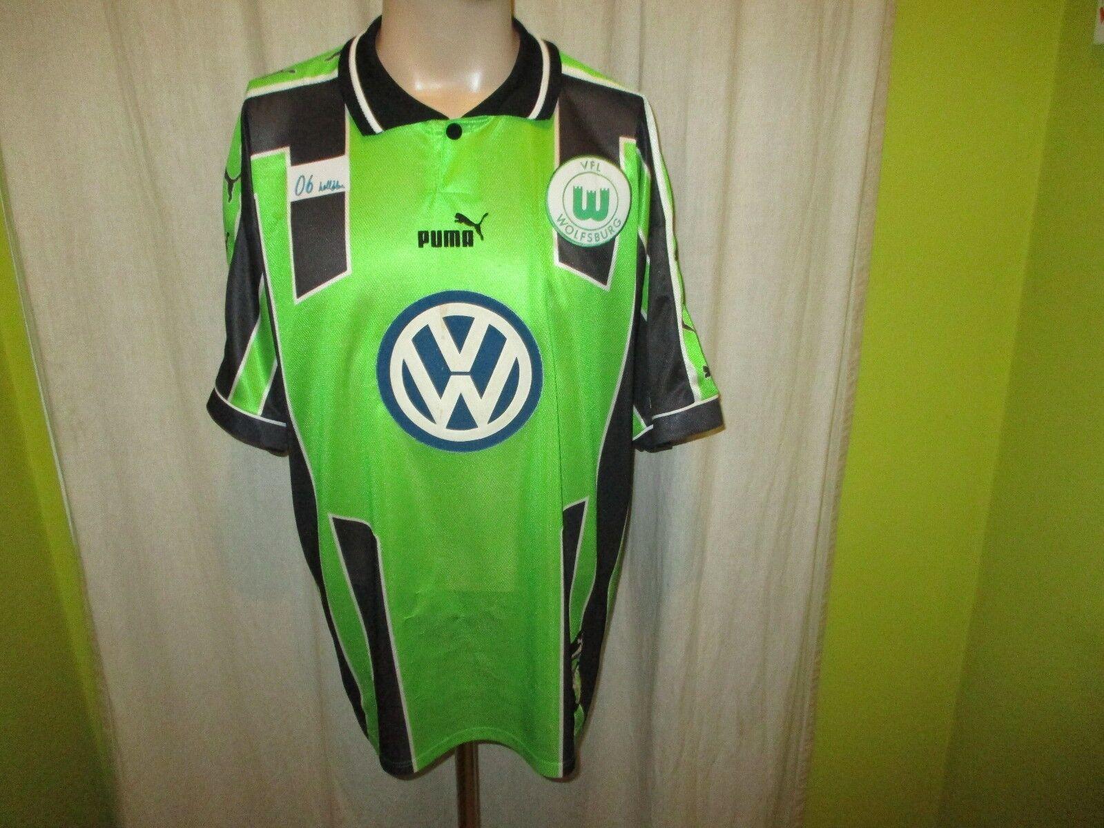 VfL Wolfsburg Original Puma Heim Trikot 1998/99