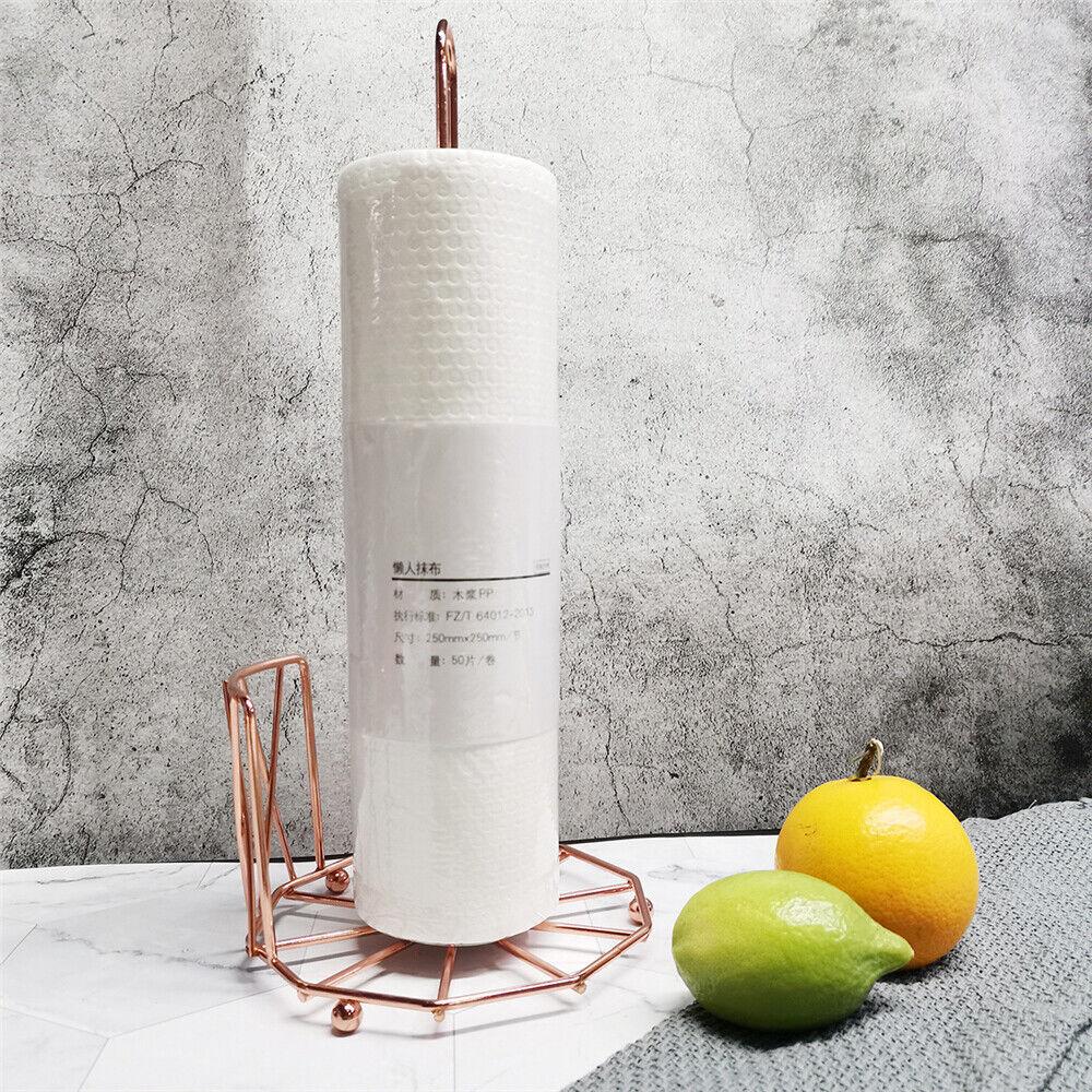 Toilet Paper Rolls Holder Stand Tissue Storage Rack Base For Bathroom Kitchen