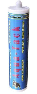 Und Dichtstoff/ Teichkleber-440 G Schwarz eur 36,14/kg Brosil Aqua Tack Klebe
