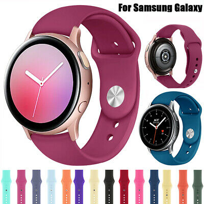 Sport Silicone Strap Bracelet for Samsung Galaxy Active 2 40//44//42mm Rubber Band