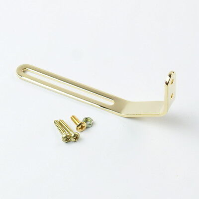 Universal Pickguard Bracket For Archtop Jazz Hollow Body Guitar ,Premium Gold