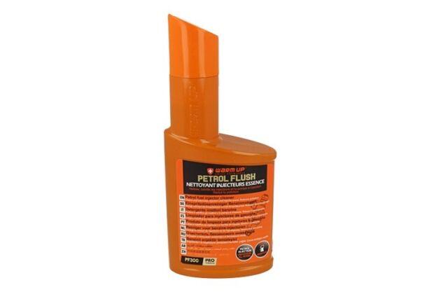 WARM UP Petrol Flush PF300 Pulitore Detergente Sistema di Iniezione Benzina