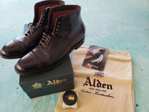 Alden Shell Cordovan Boots 11.5 Color 8