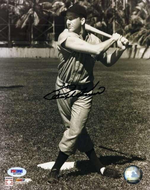 Ralph Kiner Psa Dna Coa Autograph 8x10 Photo  Hand Signed Authentic