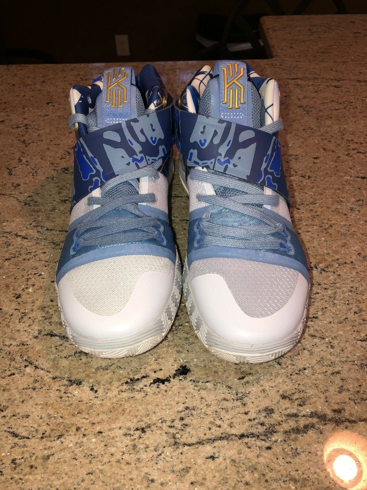 Nike Kyrie S1 Hybrid Asia Duke What The PE Size 8.5 AJ5165-902 Jordan Kobe