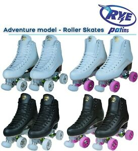 Rye Artistic Indoor Roller Skates with high boots for kids teens and adults