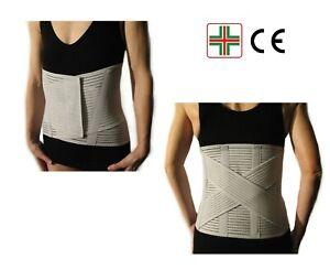 CORSETTO-LOMBARE-Fascia-Cintura-Supporto-Ortopedico-Busto-Stecche-per-la-Schiena
