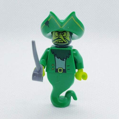 LEGO The Flying Dutchman Minifigure SpongeBob 3817 Green Pirate Ghost Hat Bag