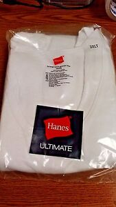 e36a3204025 Details about HANES MENS TANK TOPS WHITE *PACK OF 3* SIZES LT-6XLT PLUS  SIZE NEW IN PACKAGE