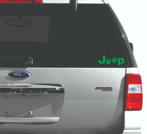 Jeep Paw Prints Decal Car Window Laptop HSA-6003