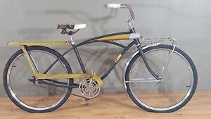 70s-Parkleigh-Deluxe-Muscle-Cruiser-Bicycle-Tank-24-034-Wheels-Bendix-Vintage-Retro