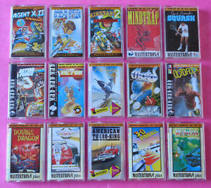 Amstrad-CPC-COLLECTION-of-MASTERTRONIC-GAMES-2-464-664-6128