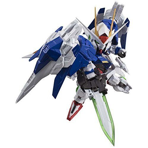 NXEDGE STYLE MS UNIT 00 GUNDAM & 0 RAISER Set Action Figure BANDAI from Japan