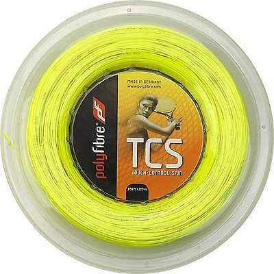 Polyfibre - TCS 200m neongelb 1.20/1.25/1.30 Tennissaite