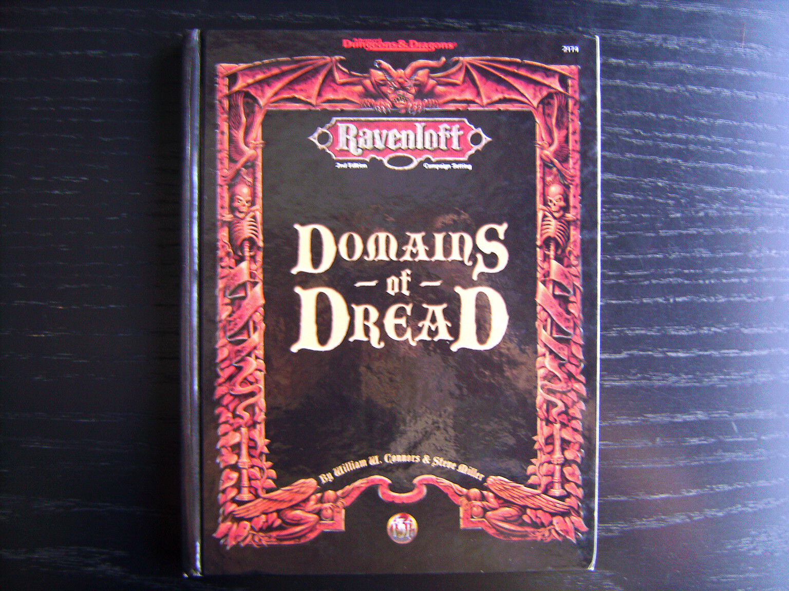 Ravenloft  dominios de miedo - 2nd edición Advanced Dungeons & Dragons Tapa Dura