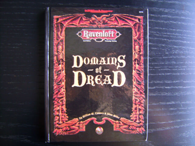 Ravenloft: Domains of Dread - 2nd Edition Advanced Dungeons & Dragons Hardcover