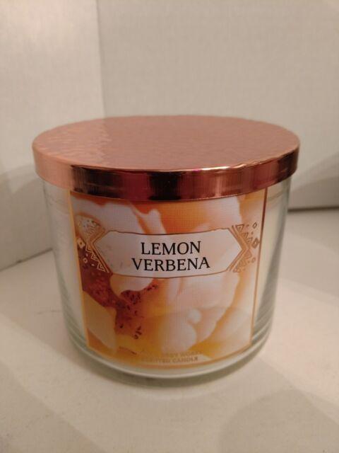 Bath & Body Works Lemon Verbena 3 wick 14.5 oz candle