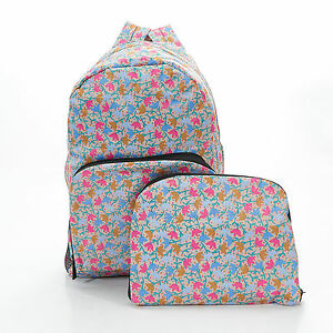 Floral-Expandable-Backpack-Rucksack-holds-20kg-max-Floral-ECO-CHIC-4-colour