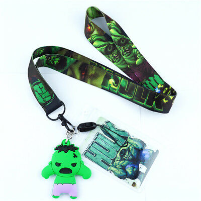 Danganronpa monokuma Lanyard Neck Strap Charms Cell Phone Rope KeyChain Cos Gift