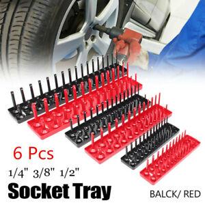6Pcs-Socket-Organizer-Tray-Rack-Storage-Holder-Tool-Set-Metric-SAE-1-4-3-8-1-2-034