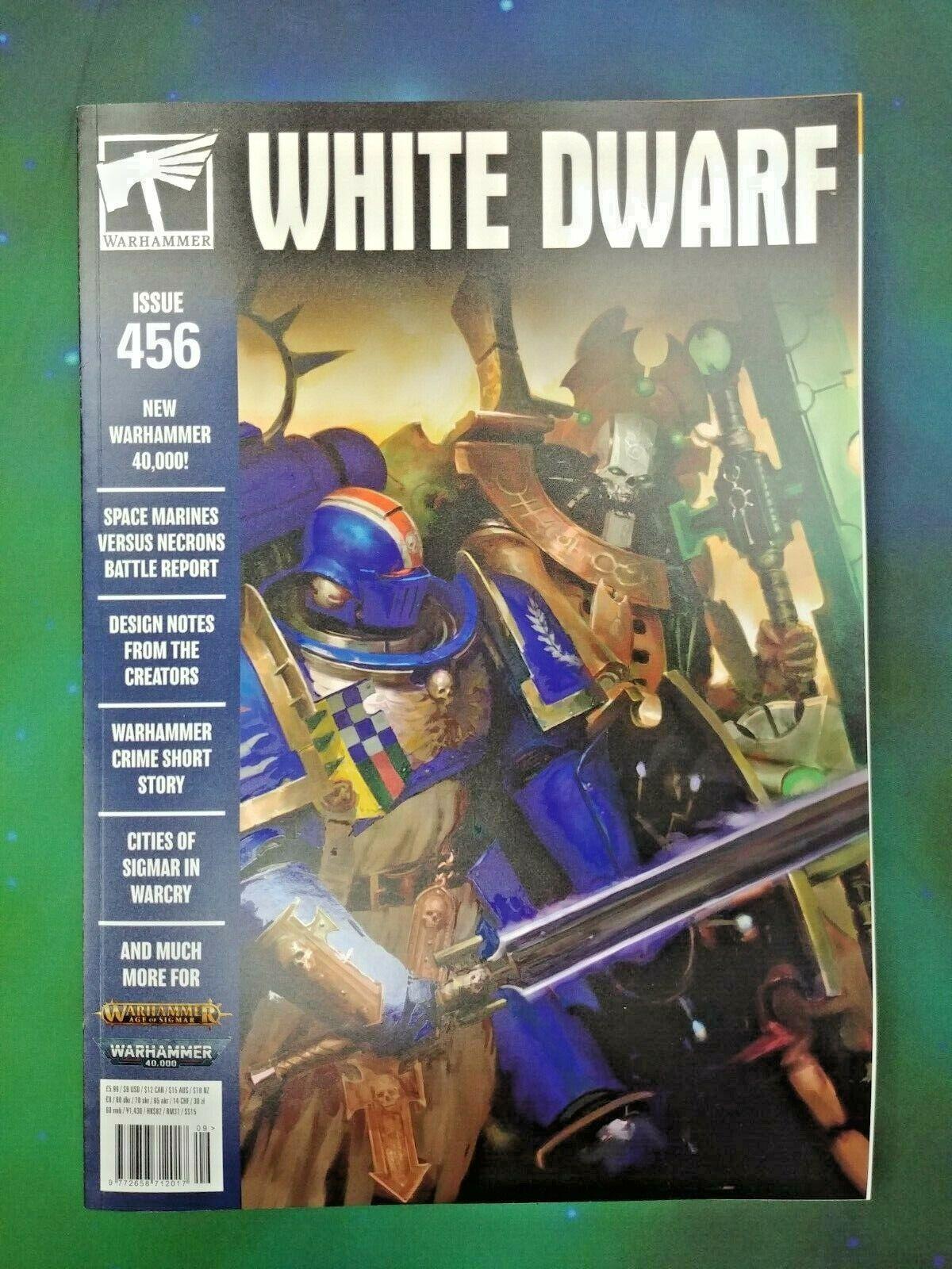 Warhammer White Dwarf Magazine Issue 456