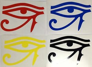 Egypt-Eye-Horus-Decal-Sticker-Outdoor-Quality-Vinyl-Colour-Choice-Buy2-Get-1Free