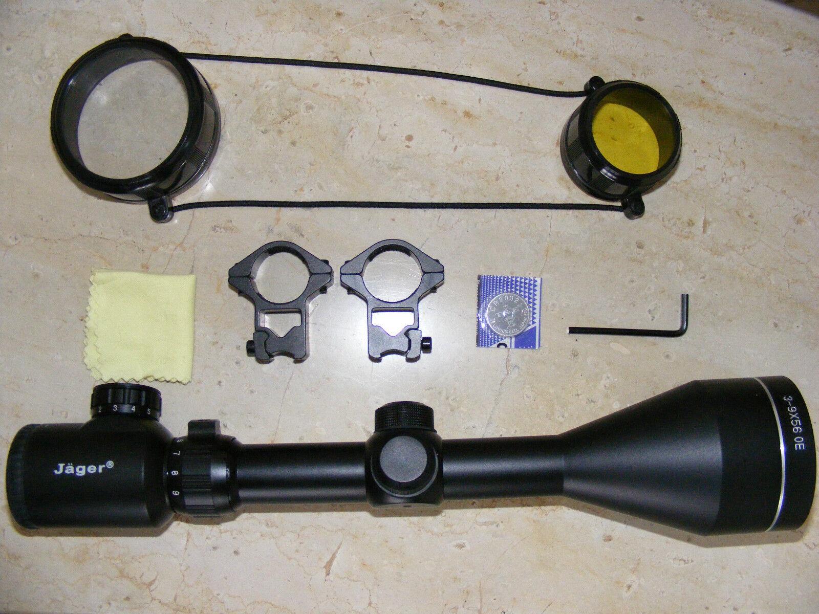 Mira telescópica de rifle de aire 6-24x50 leuchtabsehen nuevo  Softair practiqué