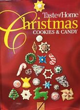 Taste of Home Christmas Cookies & Candy new hardcover Cookbook!