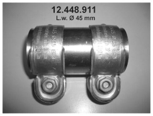 EBERSPÄCHER Rohrverbinder Abgasanlage 12.448.911 45mm Doppelschelle longlife