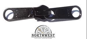 25 sliders Long Pull  Black NW8799 YKK  Sliders use for # 8 Coil Zipper