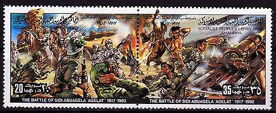 Libyen 1053-54 **, Schlacht Von Sidi Abuagela Quell Sommer Durst