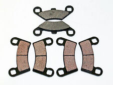 2008 2009 2010 2011 POLARIS 525 OUTLAW IRS FRONT AND REAR BRAKES BRAKE PADS