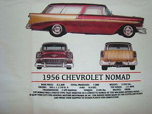 Details About Chevrolet Nomad 1956 Short Sleeve