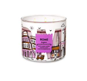 Bath-and-Body-Works-Candle-Pizzeria-Rome-Essential-Oils-Authentic-Large-3-Wicks
