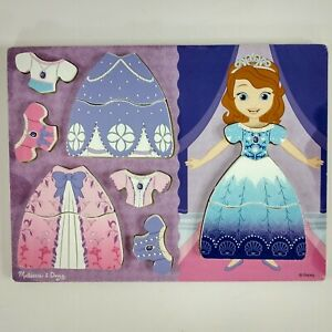 Disney Melissa /& Doug Sound Puzzle Sofia The First Magical Friends Wood NEW