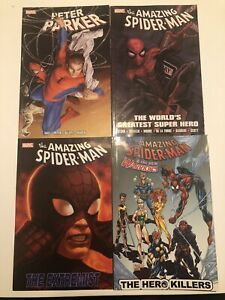 Spiderman-Graphic-Novel-Tpb-Lot