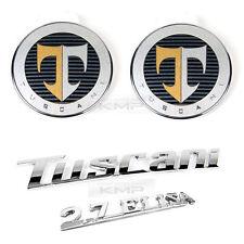 OEM Tuscani 2.7 Elisa Hood Trunk Emblem for HYUNDAI 2002-2007 2008 Tiburon Coupe