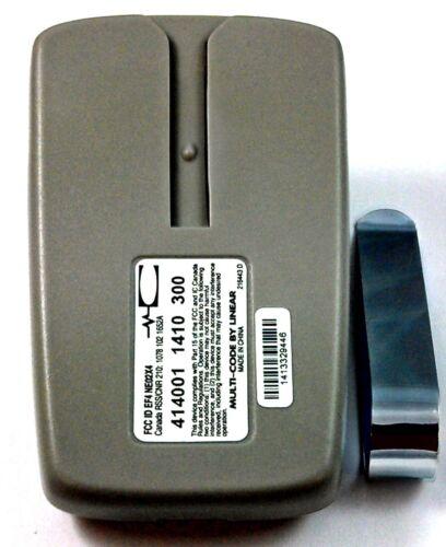 4140 Pack 2 Linéaire multicode quatre boutons porte garage Remote 300 MHz 414001 3089