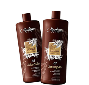 Brazilian Keratin Madame Cacau Hair Straightening Kit 1000ml 34oz Ebay