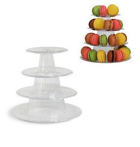 tier macaron tower display stand  french macarons ebay
