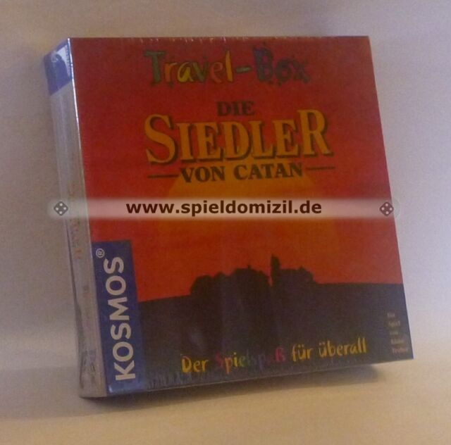 SIEDLER von CATAN * TRAVELBOX Special Edition Reisespiel RARITÄT * innen NEU !!!