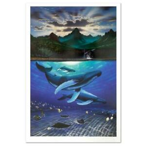Wyland-034-Dawn-of-Creation-034-Signed-Limited-Edition-Art-COA