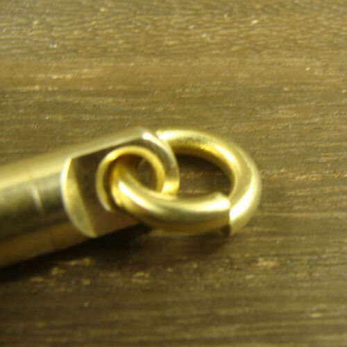 Solid Brass Swivel eye rotating connector for bag fob key chain craft use