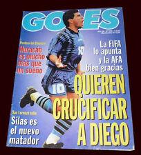 FIFA WORLD CUP 1994 Diego Maradona's Fall RARE Goles Magazine